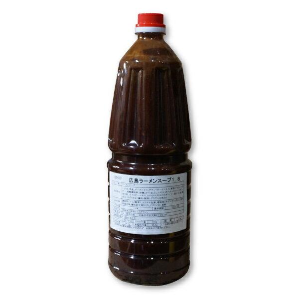 ラーメン スープ 広島ラーメンスープ1.8(ポリ)1.8L 業務用 牡蠣エキス入 拉麺 液体濃縮スープ ペットボトル