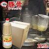 Pork bones taste ramen liquid concentration soup for *9 ramen soup Hakata ラ-メンス-プ (poly) 1.8L duties