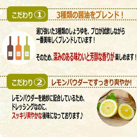 ドレッシングまるさん万能中華ドレッシング高級ごま油レモンが香るこどもに人気カロリーオフヘルシードレッシング国産国内製造ラッキーシール対応