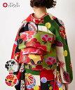 切替花刺繍袋帯ふりふセレクト レディース 袋帯 おび オビ 振袖 着物 きもの kimono 和柄 和風 成人式 結婚式 入学式 …