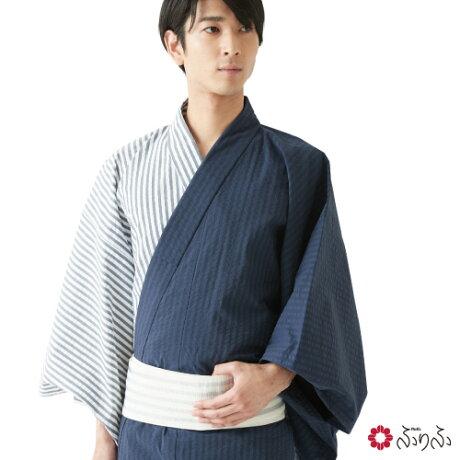 三松『ふりふ メンズ浴衣(0651-4-56400)』