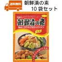 【送料無料 朝鮮漬の素10袋】 キムチ 簡単 便利 漬物