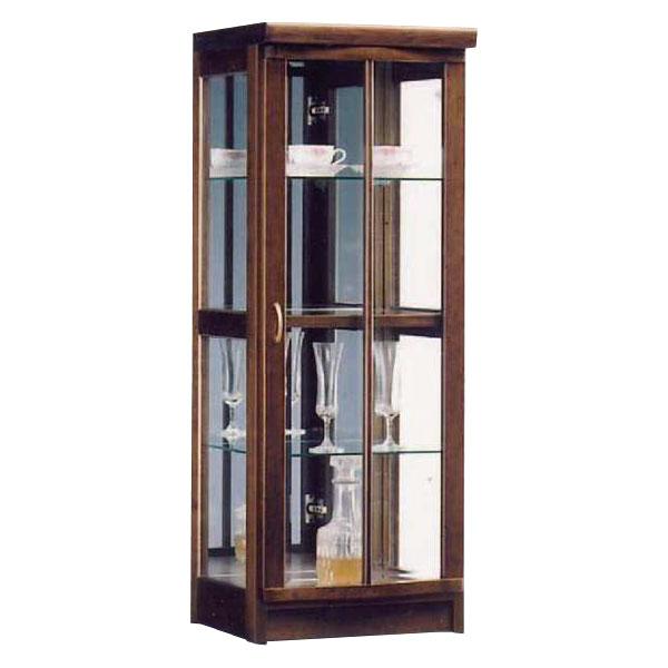 送料無料 開梱設置コレクションボード キャビネット飾り棚 ミドルタイプ 国産45cm幅 背面ミラー付