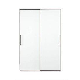 【ポイント増量&お得クーポン】 隠せる 食器棚 アリス 122cm幅 家電収納 送料無料 開梱設置 板戸