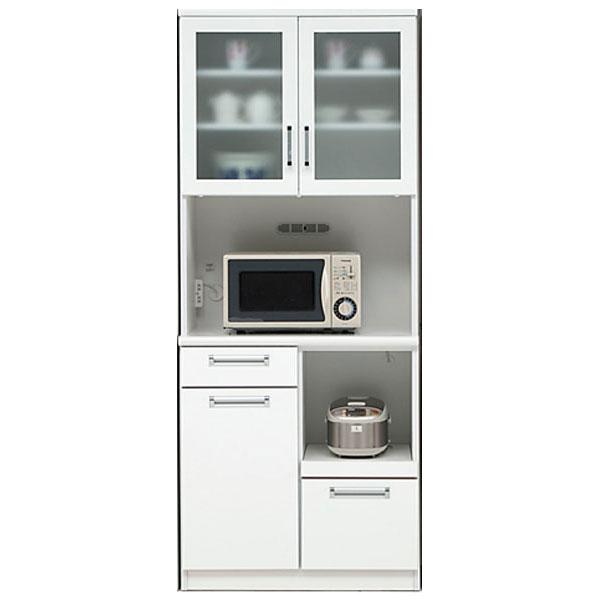 食器棚 完成品 開き戸オープン食器棚 モイス 国産80cm幅 「タック」 開梱設置 送料無料