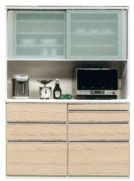 受注生産品 食器棚 完成品レンジボード 150cm幅国産 開梱設置 送料無料