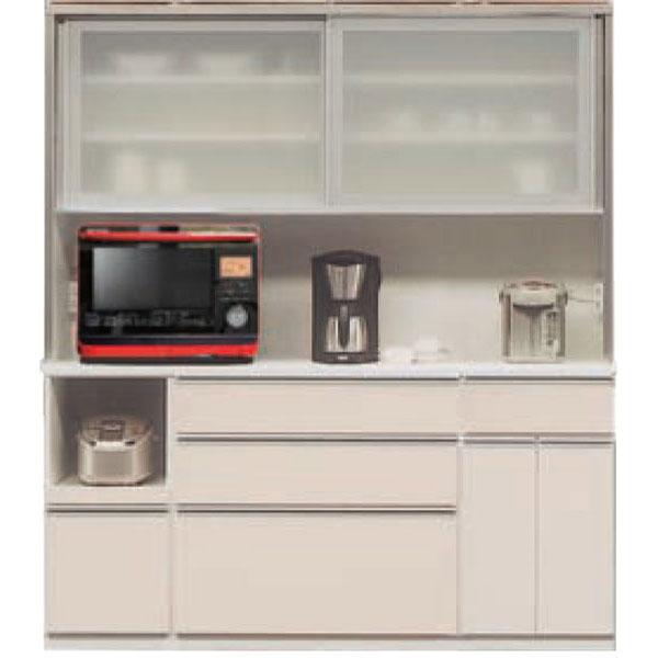 レンジボード レンジ台 食器棚 キッチン収納 家電収納180cm幅 引戸 高さ2タイプ(199cm・179cm) カラー50色対応国産 開梱設置・送料無料