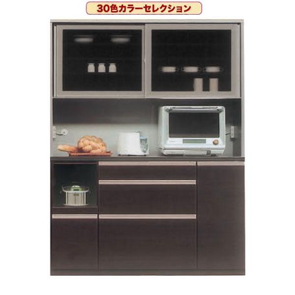 レンジボード レンジ台 食器棚 キッチン収納 家電収納160cm幅 側面カラー2色・表面カラー30色対応 国産 開梱設置・送料無料