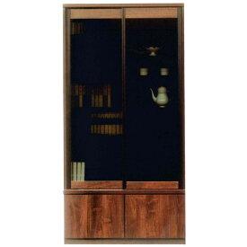書棚 引き戸 100cm幅 完成品フリーボード 国産開梱設置 送料無料