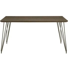 【7/19〜ポイント増量&クーポン】 送料無料テーブルはオーク突板材ダイニングテーブル140cm 「コールA」