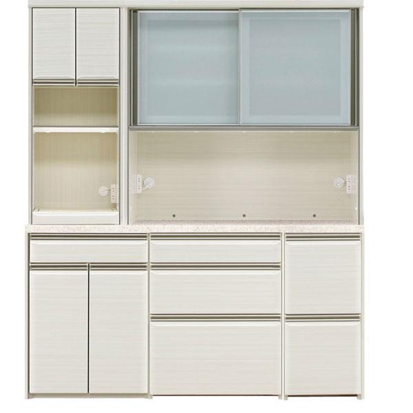 【ポイント超増量&クーポン】 食器棚 完成品 レンジボード170cm幅 「フォルツ」 開梱設置 送料無料