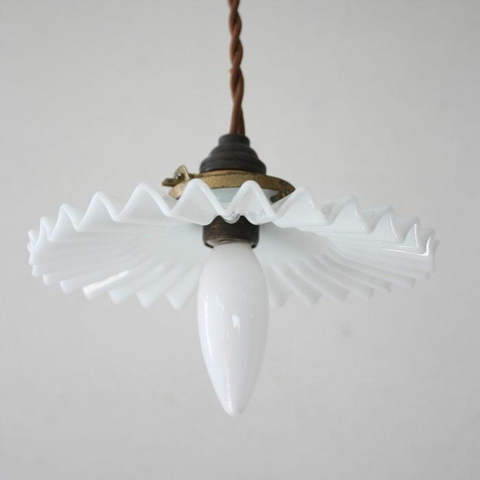 GLASS SHADE LAMP【海外直輸入中古品】【中古】