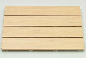 【和風 風呂すのこ】東プレ 木の風合いを活かした樹脂製すのこ 和風すのこ「木」 4060 幅60×奥行40cm_