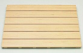 【送料無料 和風風呂すのこ】東プレ 木の風合いを活かした樹脂製すのこ 和風すのこ「木」 6085 幅85×奥行60cm_