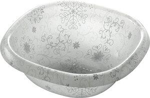 オシャレなアクリル製の洗面器 フィルロシュシュ ウォッシュボールS オフホワイト_
