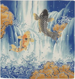 風呂敷 登り鯉・小(50cm)【風呂敷専門店ふろしきや】【メール便OK】