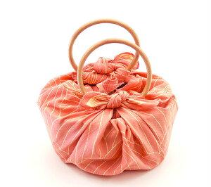 いちごバッグ 風呂敷&リングセット「Lotus-フラミンゴピンク」 敬老の日 かわいい おしゃれ