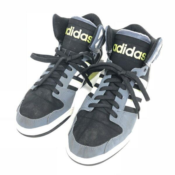 【古着】 adidas アディダス BB9TIS スポーツスニーカー ブラック系 メンズ27.5cm 【中古】 n003087