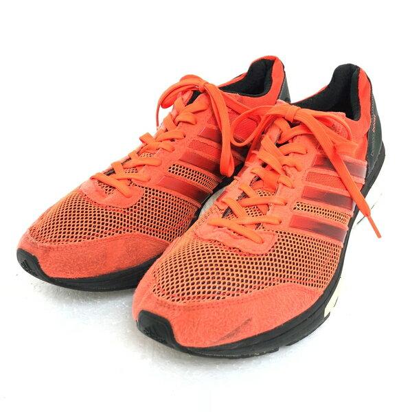 【古着】 adidas アディダス adizero Boston Boost スポーツスニーカー オレンジ系 メンズ28.0cm 【中古】 n003088