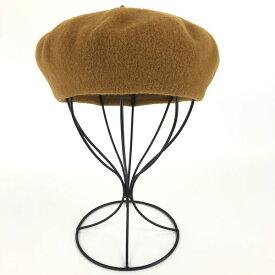 【古着】 ベレー帽 ウール素材 イエロー系 フリーサイズ 【中古】 n013316