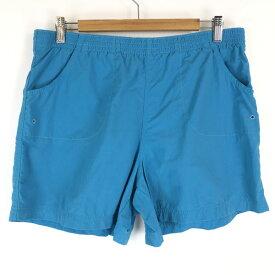 【古着】 Columbia コロンビア ナイロンショートパンツ ブルー系 メンズM 【中古】 n015496