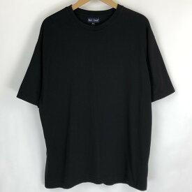 【古着】 PAUL SMITH ポールスミス 無地Tシャツ ビッグサイズ ブラック系 メンズXL以上 【中古】 n018343