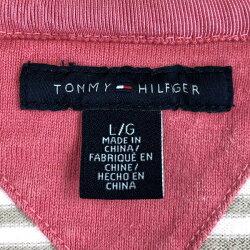 TOMMYHILFIGERトミー・ヒルフィガーレディースパーカーVネックボーダー柄ベージュ系レディースLn018700
