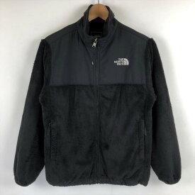 【古着】 THE NORTH FACE ノースフェイス フリースジャケット パイル素材 ブラック系 レディースXS n021843
