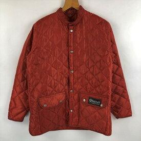 【古着】 Belstaff ベルスタッフ キルティングジャケット ライナージャケット 薄中綿 オレンジ系 メンズM n022396