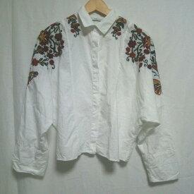 ZARA TRAFALUC ザラ 長袖 シャツ、ブラウス Shirt, Blouse 【USED】【古着】【中古】10000841