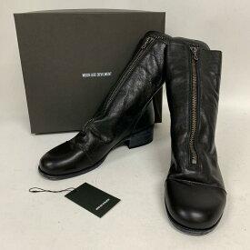 ムーンエイジデビルメント Moonage Devilment ブーツ ショートブーツ 型番:mfw-0078 フロントジップウォッシュブルブーツ【USED】【古着】【中古】 10009503
