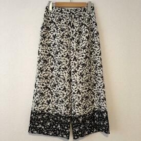 LE CIEL BLEU ルシェルブルー スラックス パンツ Pants, Trousers Slacks ワイドパンツ【USED】【古着】【中古】10015352