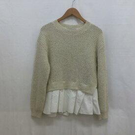 NOLLEY'S ノーリーズ ニット、セーター デザインニット【USED】【古着】【中古】10017893