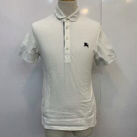 BURBERRY BLACK LABEL バーバリーブラックレーベル 半袖 ポロシャツ Polo Shirt 無地 ワンポイント【USED】【古着】【中古】10025932