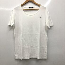 BURBERRY BLACK LABEL バーバリーブラックレーベル Tシャツ Tシャツ 半袖 ロゴマーク 無地【USED】【古着】【中古】10026083【rss200315】