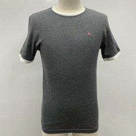 BURBERRY BLACK LABEL バーバリーブラックレーベル 半袖 Tシャツ T Shirt 無地 ワンポイント バックプリント【USED】【古着】【中古】10026234