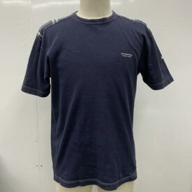 BURBERRY BLACK LABEL バーバリーブラックレーベル Tシャツ Tシャツ 半袖 ロゴ 無地 ロゴマーク【USED】【古着】【中古】10026294