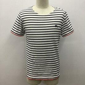 BURBERRY BLACK LABEL バーバリーブラックレーベル Tシャツ Tシャツ 半袖 ロゴマーク ボーダー【USED】【古着】【中古】10027081