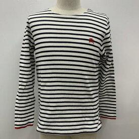 BURBERRY BLACK LABEL バーバリーブラックレーベル Tシャツ Tシャツ 長袖 ロンT ボーダー ロゴマーク【USED】【古着】【中古】10027489