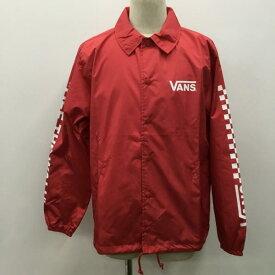 VANS バンズ ジャケット、上着 アウター ジャケット コーチジャケット ロゴ VANS VA18FW-MJ09 タグ付き【USED】【古着】【中古】10027497