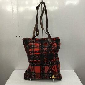 Vivienne Westwood ヴィヴィアンウエストウッド トートバッグ トートバッグ Tote Bag チェック ワンポイント【USED】【古着】【中古】10028248