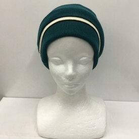 MAISON KITSUNE メゾンキツネ ニット帽 帽子 Knit Cap、Knit Hat, Beanie 無地 ロゴ【USED】【古着】【中古】10028904【rss200310】