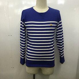 BURBERRY BLACK LABEL バーバリーブラックレーベル 長袖 Tシャツ T Shirt ボーダー カットソー【USED】【古着】【中古】10029513