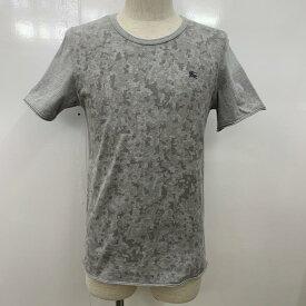 BURBERRY BLACK LABEL バーバリーブラックレーベル 半袖 Tシャツ T Shirt カモフラ 迷彩 ワンポイント【USED】【古着】【中古】10030111