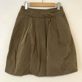 LANVIN collection ランバン コレクション ひざ丈スカート スカート Skirt Medium Skirt タフタスカート【USED】【古着】【中古】10031204