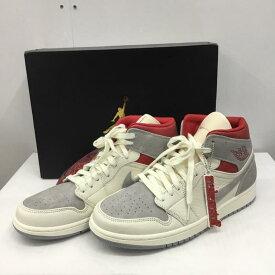 NIKE ナイキ スニーカー スニーカー Sneakers NIKE AIR JORDAN 1 MID PRM CT3443-100 28.5cm 箱有【USED】【古着】【中古】10031841