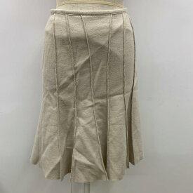 UNTITLED アンタイトル ひざ丈スカート スカート Skirt Medium Skirt プリーツスカート 無地【USED】【古着】【中古】10032160