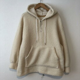 GRL グレイル 長袖 パーカー Hooded Sweatshirt, Hoodie オーバーサイズ もこもこ【USED】【古着】【中古】10033191