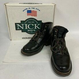 NICKS ニックス ショートブーツ ブーツ Boots Short Boots ロバート ワークブーツ【USED】【古着】【中古】10033400