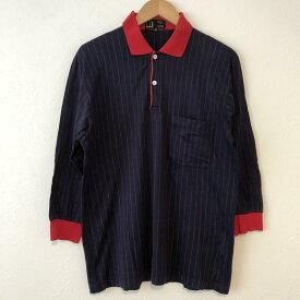 DUNHILL ダンヒル 長袖 ポロシャツ Polo Shirt 【USED】【古着】【中古】10033409